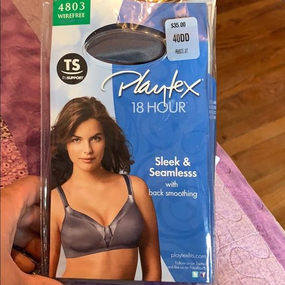 b06788282f038e Playtex Intimates & Sleepwear   18 Hour Wire Free Back Smoothing Bra ...